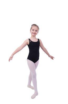 Heel mooi balletpakje van Bloch met mooie achterzijde. De brede bandjes zorgen voor comfort