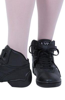 Leren danssneaker van het merk Jaxs met split sole.