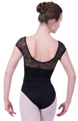 Balletpakje van So Danca met kapmouw en lage rug.
