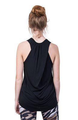 Lang hemd met soepele rugzijde