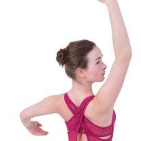 Roze balletpak van Mirella