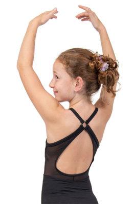 Balletpakje met kruisbanden en gaas